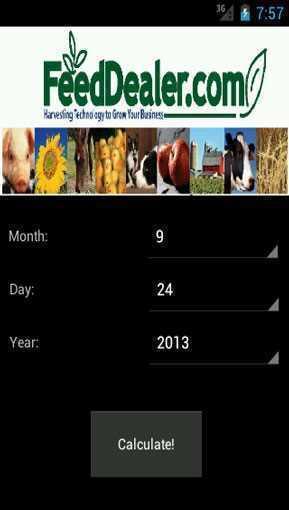 dates calculator app