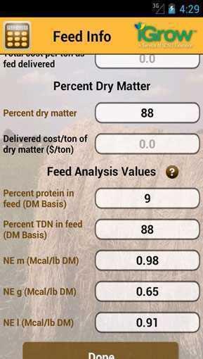 feed cost calculator
