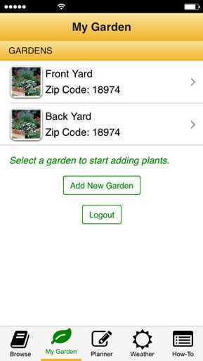 Garden time planner agriculture apps for Garden planner app