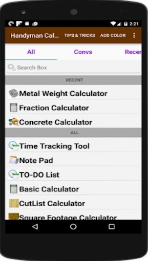 Handyman_Calculator
