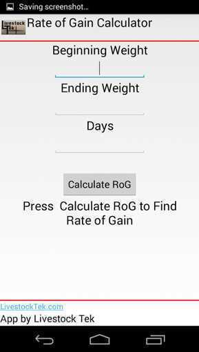 Nexus cattle calculator on the app store.