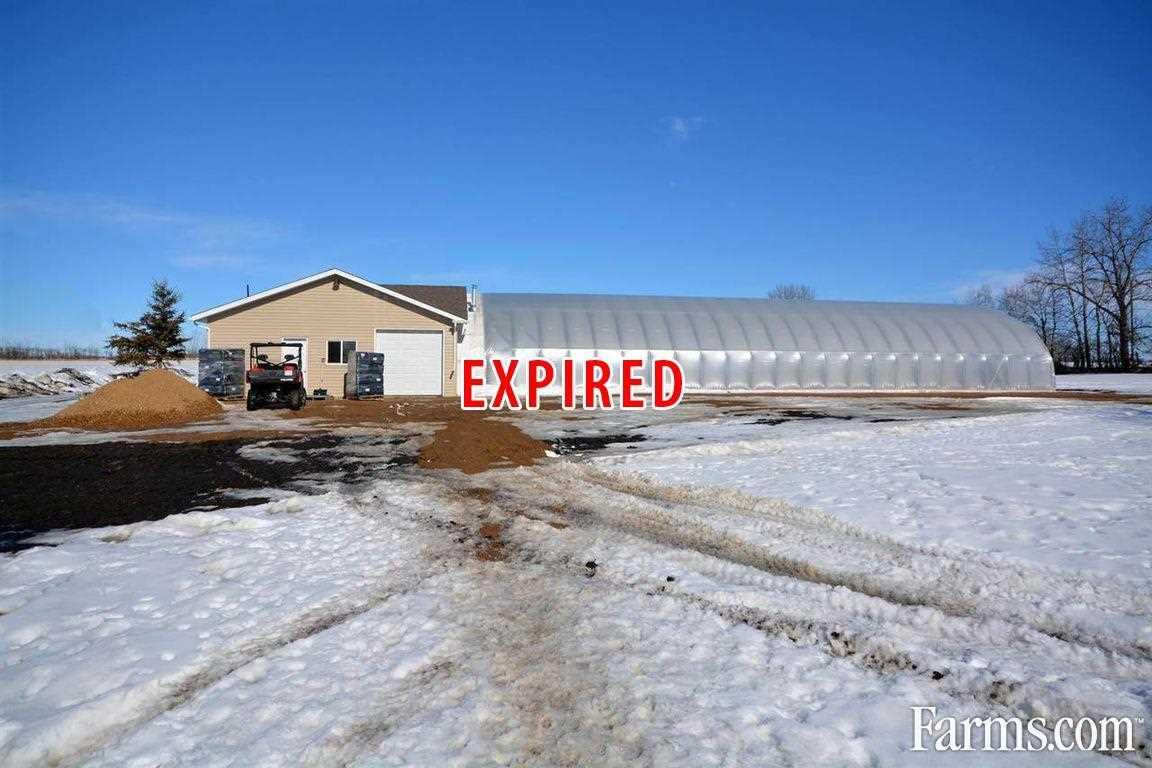 greenhouse farm for sale rural smoky lake county alberta