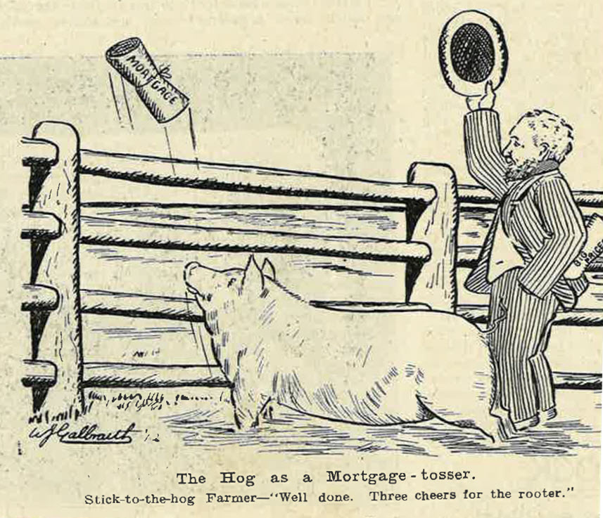 The Hog as Mortgage Tosser