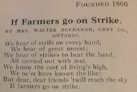 If Farmers go on Strike