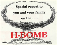 Special report to you and your family on the H-Bomb